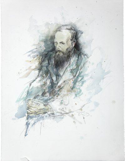 """""""Portrait F.M. Dostojewskij"""""""